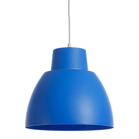 Подвесной светильник VITO 4101980  Raina BITEZ-COLORS-300/BLUE/1*E27/PLS/PENDANT LAMP
